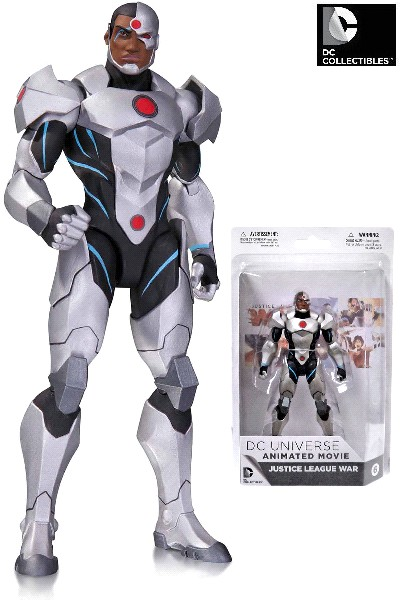 DC Collectibles Justice League War Cyborg Action Figure